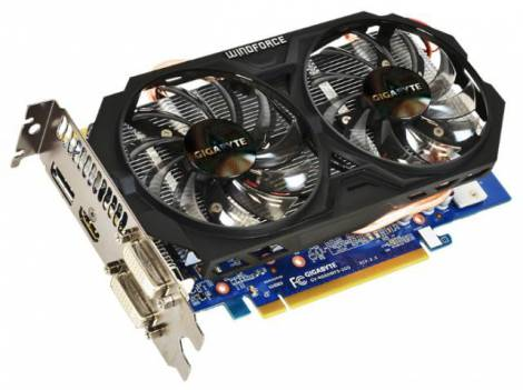 Видеокарта GIGABYTE GeForce GTX 660 (980МГц, GDDR5 2048Мб 6008МГц 192 бит)