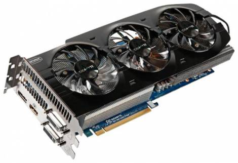 Видеокарта GIGABYTE GeForce GTX 670 (980МГц, GDDR5 4096Мб 6008МГц 256 бит)