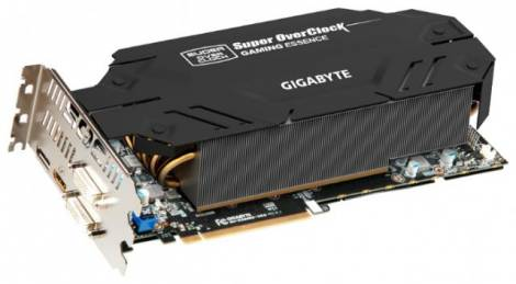 Видеокарта GIGABYTE GeForce GTX 680 (1137МГц, GDDR5 2048Мб 6200МГц 256 бит)