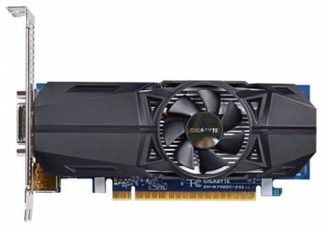 Видеокарта GIGABYTE GeForce GTX 750 (1059МГц, GDDR5 2048Мб 5000МГц 128 бит)