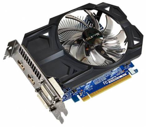 Видеокарта GIGABYTE GeForce GTX 750 (1059МГц, GDDR5 1024Мб 5000МГц 128 бит)