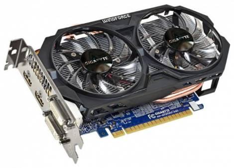 Видеокарта GIGABYTE GeForce GTX 750 Ti (1033МГц, GDDR5 2048Мб 5400МГц 128 бит)