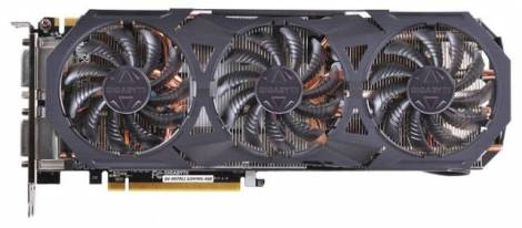 Видеокарта GIGABYTE GeForce GTX 970 (1178МГц, GDDR5 4096Мб 7000МГц 256 бит)