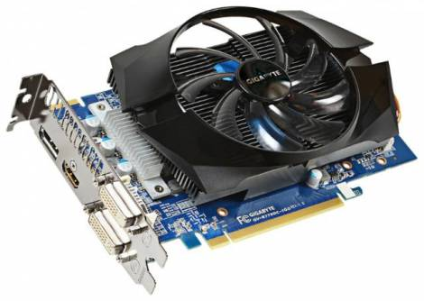 Видеокарта GIGABYTE Radeon HD 7790 (1075МГц, GDDR5 1024Мб 6000МГц 128 бит)