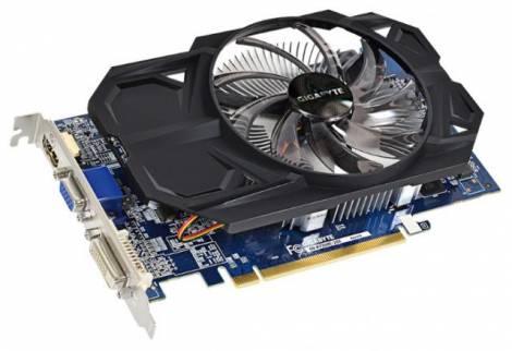 Видеокарта GIGABYTE Radeon R7 250 (1100МГц, GDDR3 2048Мб 1800МГц 128 бит)