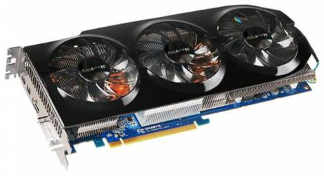 Видеокарта GIGABYTE Radeon R9 280X (1000МГц, GDDR5 3072Мб 6000МГц 384 бит)