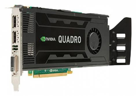 Видеокарта HP Quadro K4000 (GDDR5 3072Мб 192 бит)