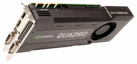 Видеокарта HP Quadro K5000 (700МГц, GDDR5 4096Мб 5406МГц 256 бит)