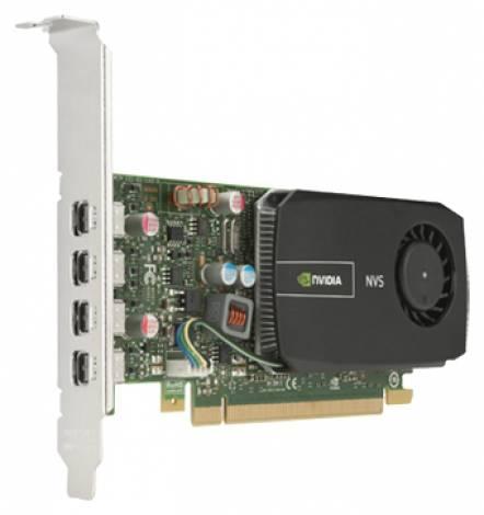 Видеокарта HP Quadro NVS 510 (797МГц, GDDR3 2048Мб 891МГц 128 бит)