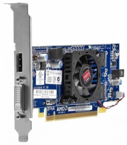Видеокарта HP Radeon HD 7450 (625МГц, GDDR3 1024Мб 1066МГц 64 бит)