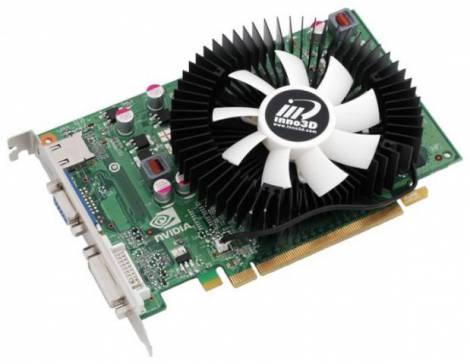 Видеокарта Inno3D GeForce GT 240 (550МГц, GDDR5 1024Мб 3400МГц 128 бит)