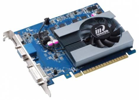 Видеокарта Inno3D GeForce GT 620 (700МГц, GDDR3 1024Мб 1066МГц 64 бит)