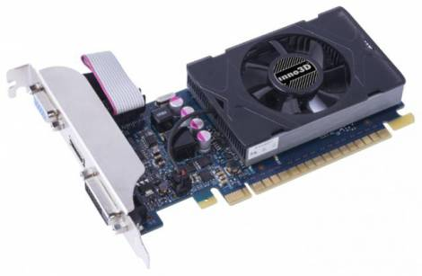 Видеокарта Inno3D GeForce GT 720 (797МГц, GDDR5 1024Мб 5000МГц 64 бит)