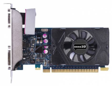 Видеокарта Inno3D GeForce GT 730 (902МГц, GDDR5 1024Мб 5000МГц 64 бит)