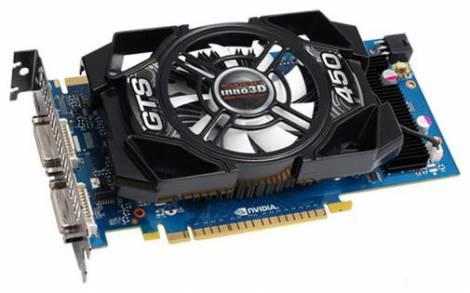 Видеокарта Inno3D GeForce GTS 450 (783МГц, GDDR5 1024Мб 3608МГц 128 бит)