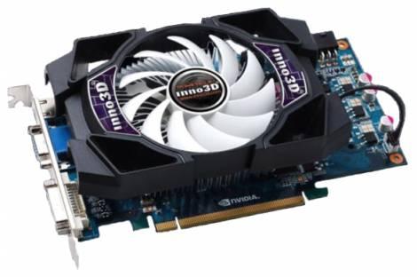 Видеокарта Inno3D GeForce GTS 450 (783МГц, GDDR5 512Мб 3608МГц 128 бит)