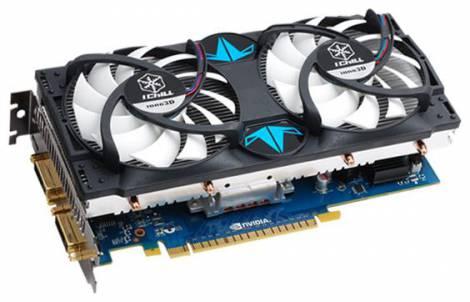 Видеокарта Inno3D GeForce GTS 450 (820МГц, GDDR5 1024Мб 3800МГц 128 бит)