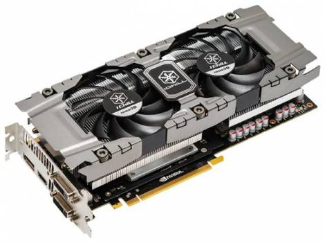 Видеокарта Inno3D GeForce GTX 660 Ti (1020МГц, GDDR5 2048Мб 6200МГц 192 бит)