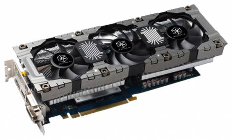 Видеокарта Inno3D GeForce GTX 670 (1020МГц, GDDR5 4096Мб 6200МГц 256 бит)
