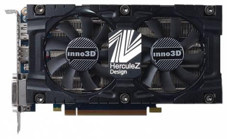 Видеокарта Inno3D GeForce GTX 760 (1006МГц, GDDR5 4096Мб 6008МГц 256 бит)