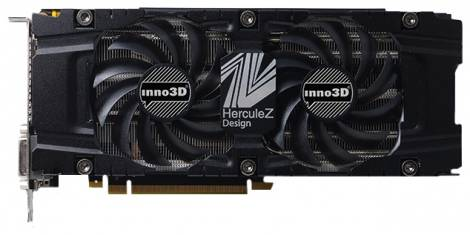 Видеокарта Inno3D GeForce GTX 770 (1071МГц, GDDR5 4096Мб 7010МГц 256 бит)