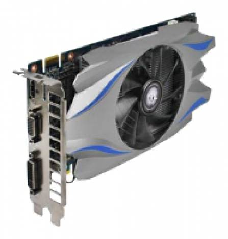 Видеокарта KFA2 GeForce GTX 650 Ti Boost (980МГц, GDDR5 2048Мб 6008МГц 192 бит)