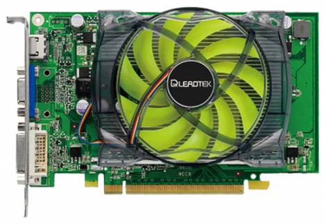 Видеокарта Leadtek GeForce GT 240 (550МГц, GDDR5 512Мб 3600МГц 128 бит)