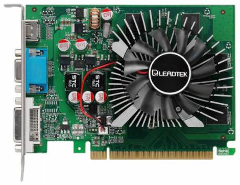 Видеокарта Leadtek GeForce GT 440 (810МГц, GDDR5 1024Мб 3200МГц 128 бит)