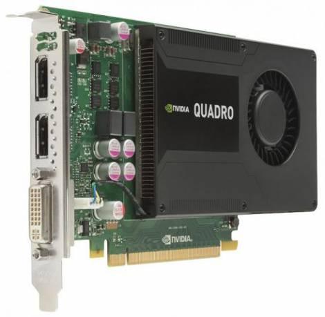 Видеокарта Lenovo Quadro K2000 (GDDR5 2048Мб 128 бит)