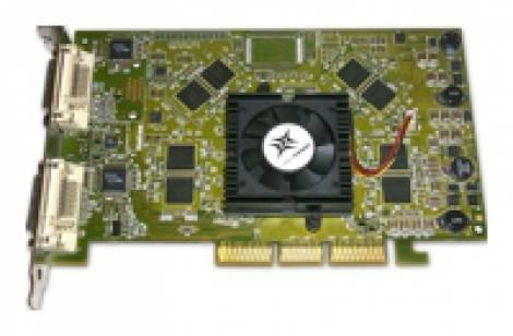 Видеокарта Matrox (200МГц, GDDR 256Мб 500МГц 256 бит)
