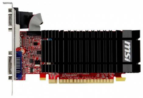 Видеокарта MSI GeForce GT 610 (700МГц, GDDR3 2048Мб 1000МГц 64 бит)
