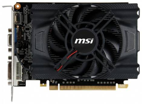 Видеокарта MSI GeForce GT 640 (900МГц, GDDR3 2048Мб 1620МГц 128 бит)