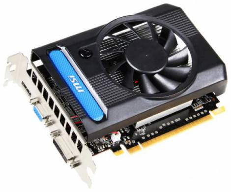 Видеокарта MSI GeForce GT 640 (902МГц, GDDR3 1024Мб 1782МГц 128 бит)
