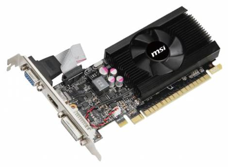 Видеокарта MSI GeForce GT 640 (902МГц, GDDR3 2048Мб 1782МГц 128 бит)
