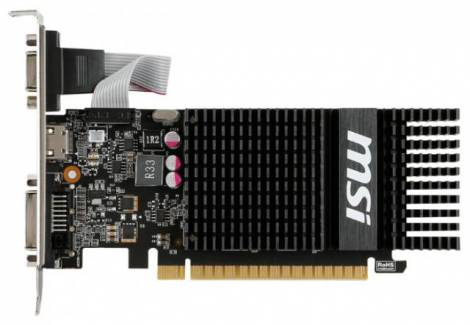 Видеокарта MSI GeForce GT 720 (797МГц, GDDR3 2048Мб 1600МГц 64 бит)