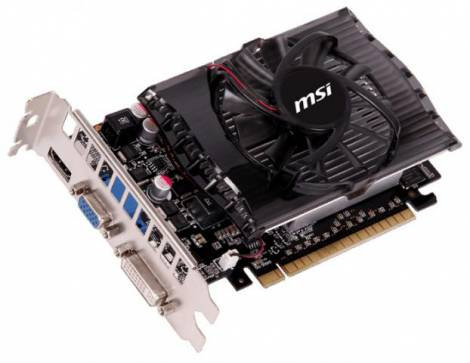 Видеокарта MSI GeForce GT 730 (700МГц, GDDR3 4096Мб 1800МГц 128 бит)