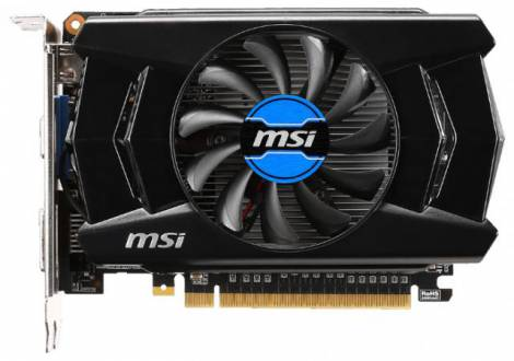 Видеокарта MSI GeForce GT 740 (1006МГц, GDDR3 2048Мб 1782МГц 128 бит)