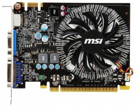 Видеокарта MSI GeForce GTS 450 (700МГц, GDDR3 1024Мб 1800МГц 128 бит)