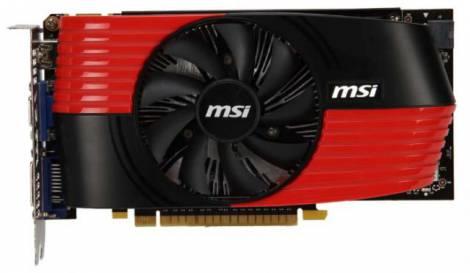 Видеокарта MSI GeForce GTS 450 (850МГц, GDDR5 512Мб 3608МГц 128 бит)