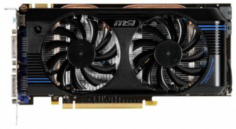 Видеокарта MSI GeForce GTX 560 Ti (832МГц, GDDR5 2048Мб 4008МГц 256 бит)