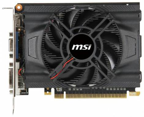 Видеокарта MSI GeForce GTX 650 (1071МГц, GDDR5 1024Мб 5000МГц 128 бит)
