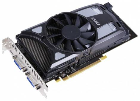 Видеокарта MSI GeForce GTX 650 (1124МГц, GDDR5 1024Мб 5000МГц 128 бит)