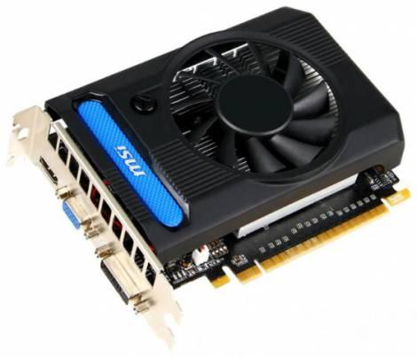 Видеокарта MSI GeForce GTX 650 Ti (928МГц, GDDR5 2048Мб 5400МГц 128 бит)