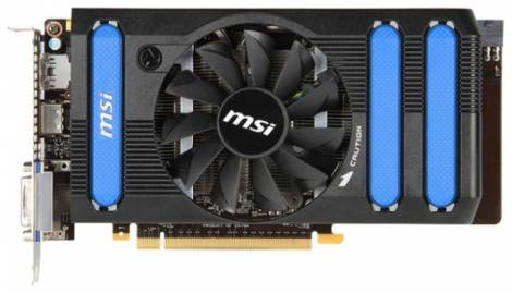 Видеокарта MSI GeForce GTX 650 Ti Boost (1006МГц, GDDR5 1024Мб 5010МГц 192 бит)