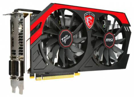 Видеокарта MSI GeForce GTX 660 (1033МГц, GDDR5 2048Мб 6008МГц 192 бит)