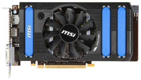 Видеокарта MSI GeForce GTX 660 (980МГц, GDDR5 2048Мб 6008МГц 192 бит)