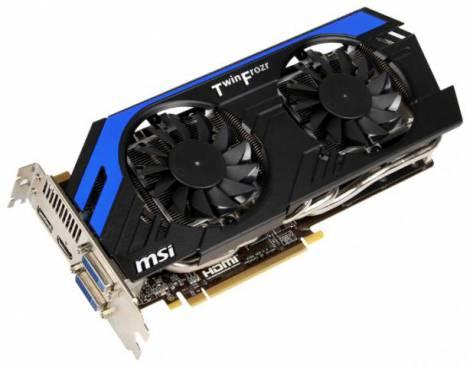 Видеокарта MSI GeForce GTX 670 (1019МГц, GDDR5 2048Мб 6008МГц 256 бит)