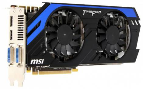 Видеокарта MSI GeForce GTX 670 (915МГц, GDDR5 2048Мб 6008МГц 256 бит)