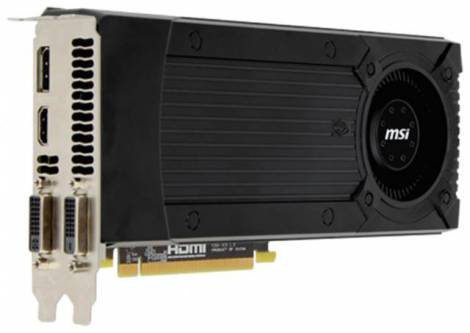 Видеокарта MSI GeForce GTX 670 (965МГц, GDDR5 2048Мб 6008МГц 256 бит)