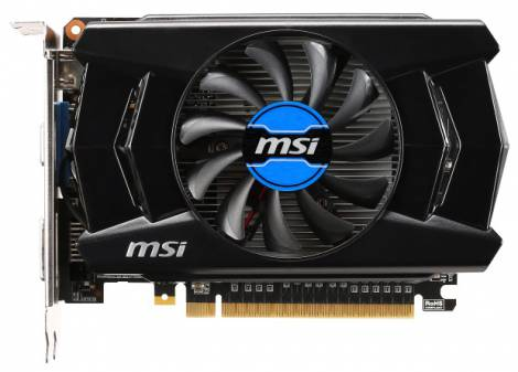 Видеокарта MSI GeForce GTX 750 (1059МГц, GDDR5 2048Мб 5000МГц 128 бит)